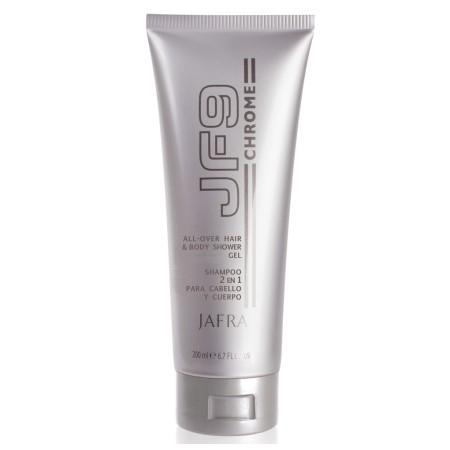 JF 9 Chrome vlasový a telový šampón